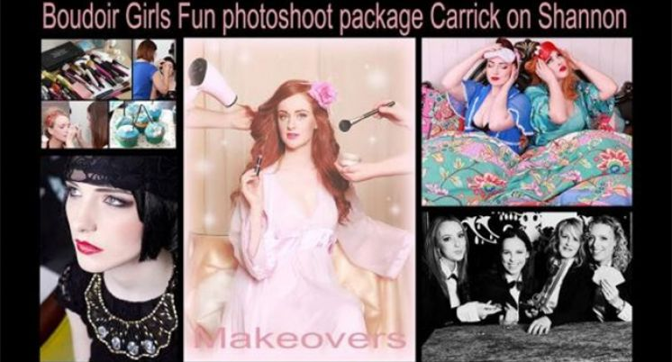 Boudoir Girls Hen Party Package