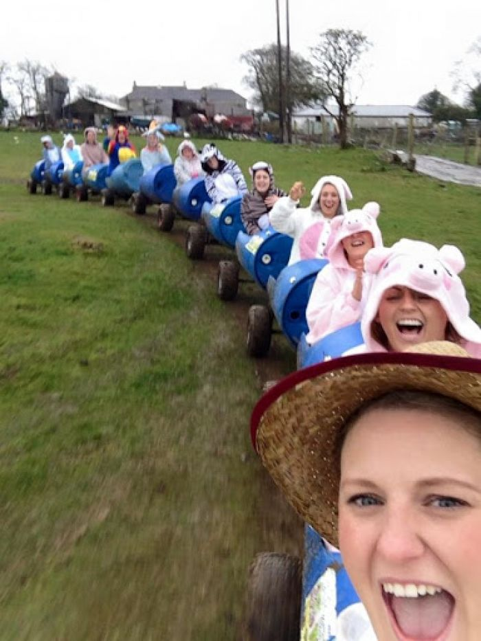 Choose a farm experience with a difference for your Hen Party?
