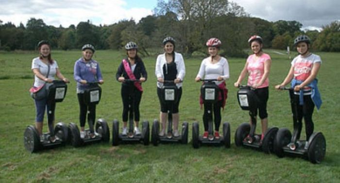 Segways Glide Hen Party Package